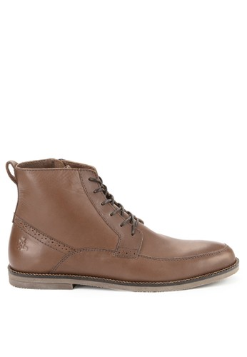LOIS JEANS brown Casual Leather Boots 991CESHEA17289GS_1