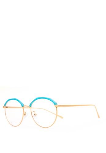Caoros blue Olympia Round Glasses CA288GL69AKCPH_1