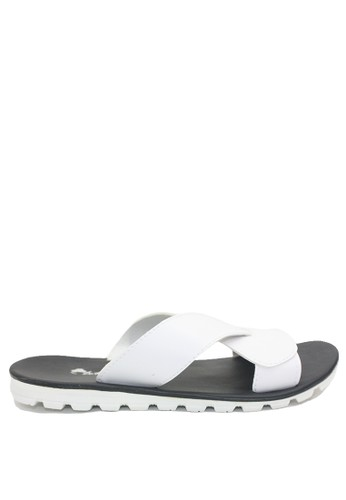 Dr. Kevin white Dr. Kevin Men Sandals 97210 - White 11D03SH209A2BAGS_1