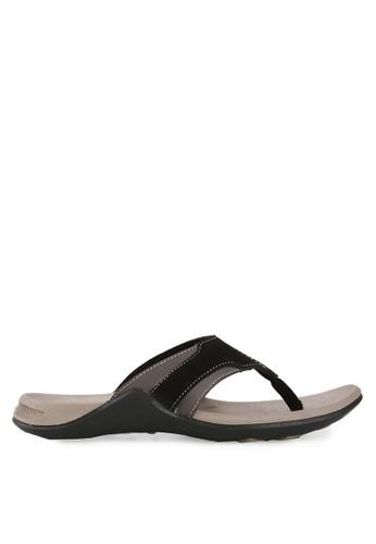 Homyped black Green Land Men Sandals HO842SH72CPJID_1