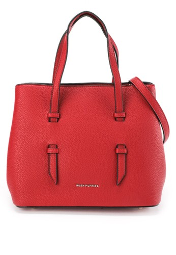 Hush Puppies red Evalyn Satchel 004ABAC27E0875GS_1