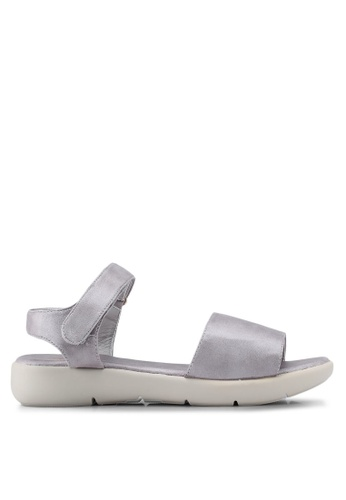 Bata silver Classic Strappy Sandals CD6BBSHC8C02E8GS_1