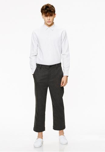 Life8 grey Casual Capri Trouser Pant With Elastic Band-02428-Grey LI283AA0FSWQSG_1