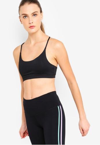 Cotton On Body black Essential Strappy Sports Bra 5370AUS6E6D0FFGS_1
