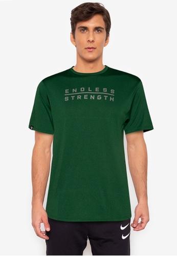 Gametime green Endless Strength Tshirt 4268FAAF297AFFGS_1