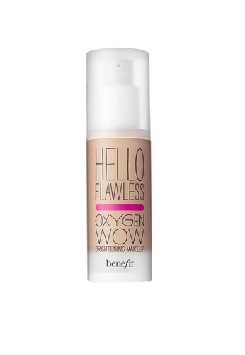 Benefit Benefit Hello Flawless! Oxygen Wow Liquid Foundation - Beige, I'm All The Rage BE670BE0RQZ4MY_1