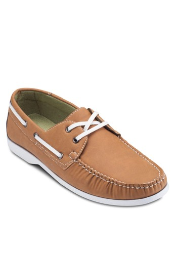 Faux Leatheresprit 寢具 Boat Shoe, 鞋, 鞋