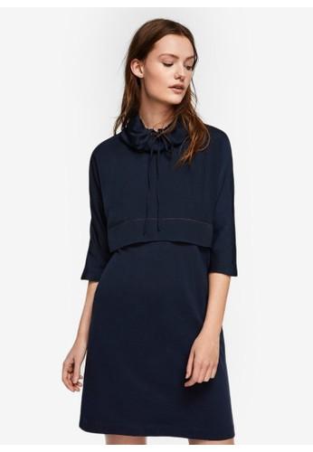 Mango navy Dress_DEL 694F9AA07721ECGS_1