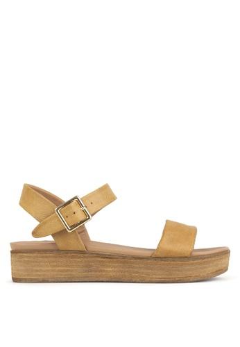 Betts brown Fortress Platform Sandals 0481CSH9A53372GS_1