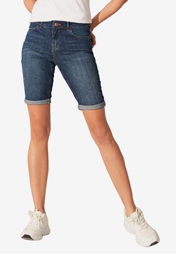 LC Waikiki blue Regular Waist Shorts 45FDDAA4DB8A42GS_1