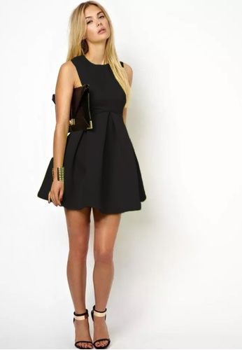 Shopsfashion black Rolla Little Black Dress with Cut Out Sides SH656AA24BPRSG_1