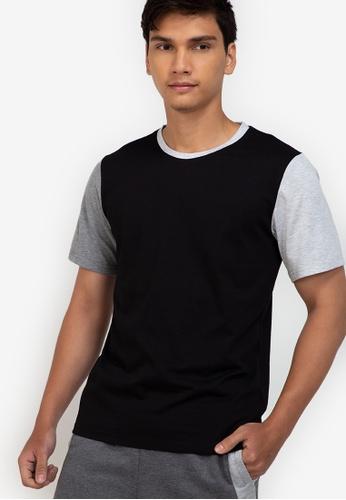 ZALORA BASICS multi Colour Block T-Shirt 92D67AA9BD2F50GS_1