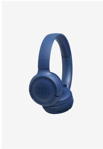 JBL blue JBL TUNE 500BT Wireless on ear headphones 8FB49AC85961A8GS_1