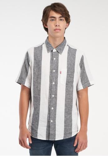 Levi's black Levi's® Men's Classic 1 Pocket Short Sleeve Shirt 86627-0059 54962AA246B46AGS_1