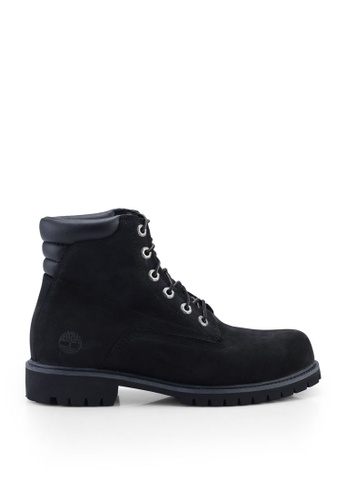 Timberland black Alburn 6 Inch Waterproof Boots F72FASH570BF48GS_1