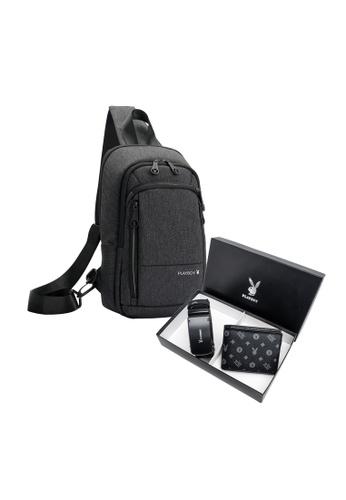 Playboy black Playboy Gift Set Box 6448EACF733A1CGS_1