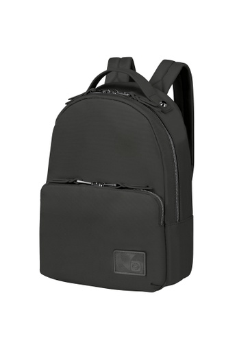 Samsonite black Samsonite Yourban Backpack B27BBAC4C5021FGS_1