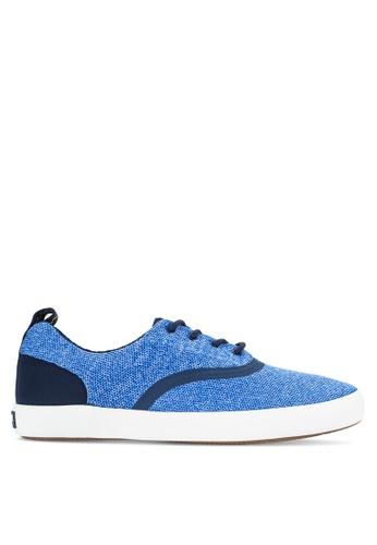 Sperry blue Paul Sperry Vulcanized Flex Deck Cvo Knit Sneakers SP132SH95PJKMY_1