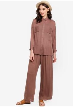 c687411db47 45% OFF Zalia Self Tie Palazzo Pants RM 95.00 NOW RM 51.90 Sizes XS S M L XL