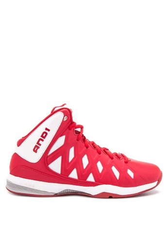 And1 red Unbreakable Basketball Shoes AN510SH99SSEPH_1