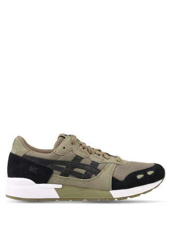 ASICSTIGER black and green GEL-Lyte Shoes AS610SH0SVUMMY_1