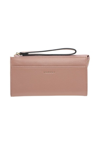 Tracey pink Tracey Simple Zip Purse BFDECACD04CA94GS_1
