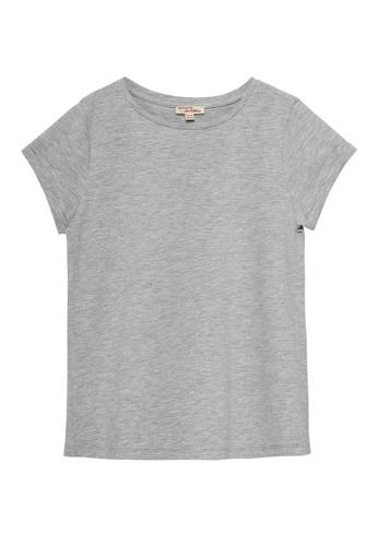 Du Pareil Au Même (DPAM) grey Plain T-shirt 1A4A6KADBBD84DGS_1