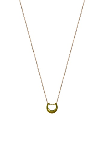 SKEDA gold Cuff Necklace 1A34AACABB9C69GS_1