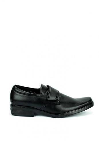 Cardam's Lifestyle black Bruce Formal Shoes 7ED7BSH333F93DGS_1