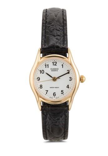LTP-10esprit 兼職94Q-7B1RDF 數字顯示淑女圓錶, 錶類, 飾品配件