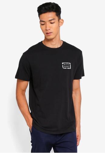 Billabong 黑色 休閒印花T恤 5B85FAA3E78031GS_1