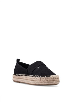 10838c48fa5db8 Dorothy Perkins Black Cosmic Espadrilles RM 129.00. Sizes 3 4 5 6 7