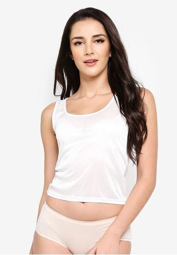 Impression white U Neck Camisole or Innerwear 1CB54AA451DA98GS_1