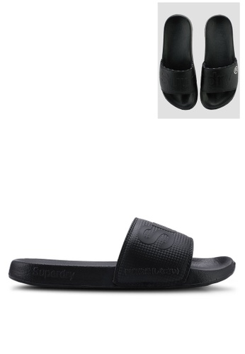 6850ce191c6 Buy Superdry Superdry Carbon Pool Slider Online | ZALORA Malaysia