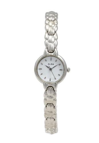 Alba silver ALBA Jam Tangan Wanita - Silver White - Stainless Steel - AC3G31 573A5ACBB764CBGS_1