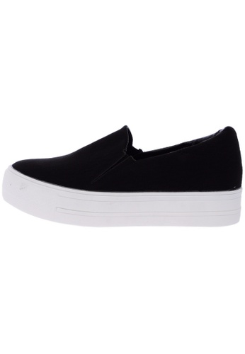 Maxstar C7 30 Synthetic Leather White Platform Slip on Sneakers US Women Size MA168SH53DYGHK_1