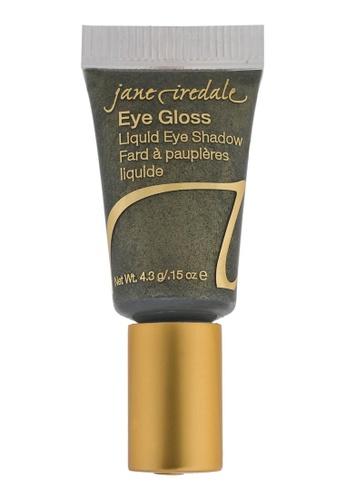 Jane Iredale green Eye Gloss Liquid Eye Shadow- Green Silk JA379BE93MVESG_1