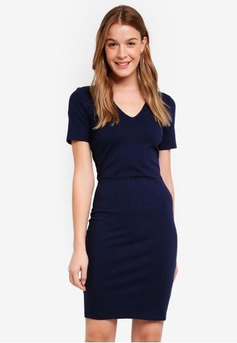 Modstrom navy Jilly Dress DD53CAA687067BGS_1