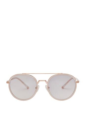 Carin white Romy C3 Sunglasses 2D59AGLE164F4FGS_1