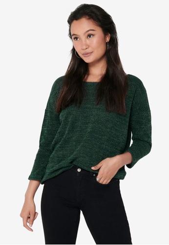 ONLY 綠色 質感上衣 D3917AA1310B9EGS_1