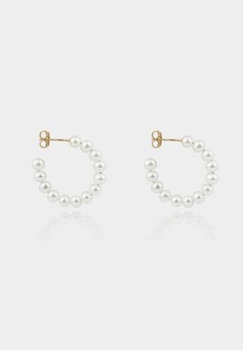 monojewelry CELINA PEARL HOOP EARRINGS ADDEBAC8D9B4ADGS_1