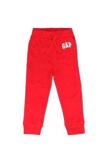 GAP red V-Tb Ptf Jog Logo Pnt C2338KA4DA7043GS_1