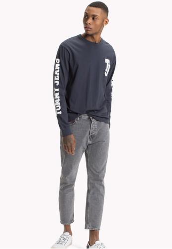 Tommy Jeans black TJM MULTIHIT LONGSLEEVE TEE 6C4E2AA20E5CF3GS_1