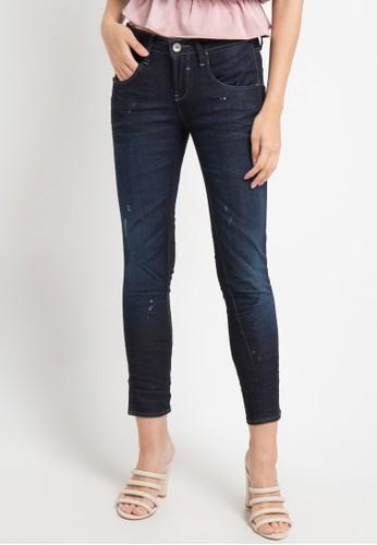 Logo Jeans blue Skinny 89 Series Middle Waist 9402BAA2B412EAGS_1