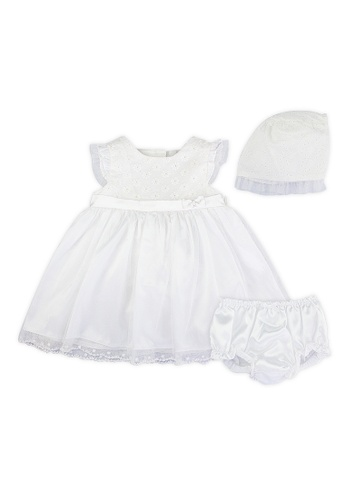 PERIWINKLE white Elva H19 Baptismal Set E90A9KAF35CB8EGS_1