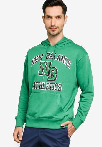 New Balance green Nb Athletics Varsity Pack Hoodie 91F16AAB57966CGS_1