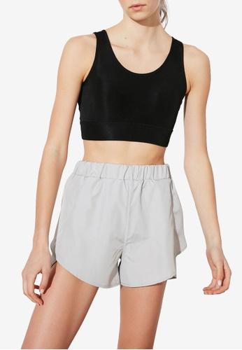 Trendyol grey Sports Shorts C8299AA0CC1861GS_1
