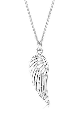 翅膀 925 純銀項鍊, esprit台灣門市飾品配件, 項鍊