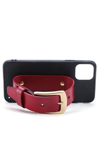 Twenty Eight Shoes Vintage Leather Belt iPhone Case QYE094 C57E8AC58A46F1GS_1