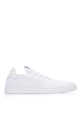 Life8 white Sport Lightweight Material Stitching Sneakers-09881-White C8D81SH2EC061BGS_1
